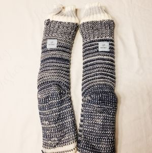 Jane and Bleecker Knit Slippers